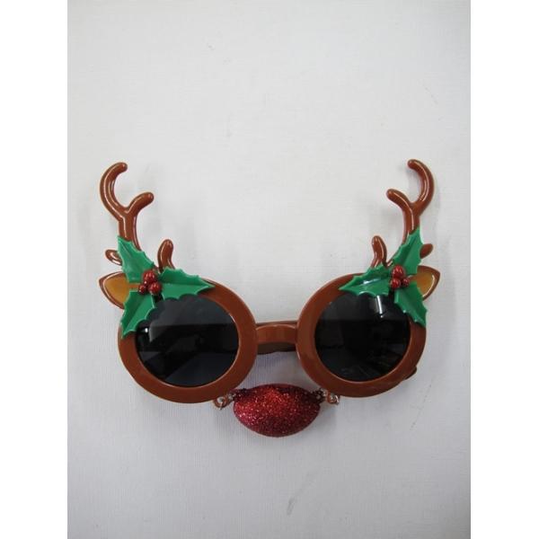 Reindeer Sunglasses Novelty Glasses
