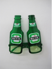 Green Beer Glasses - Novelty Glasses