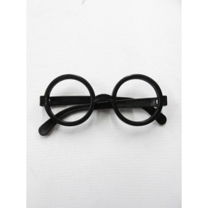 Plastic Black Round - Novelty Sunglasses