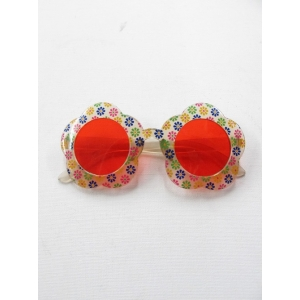 Hippie Flower - Novelty Sunglasses