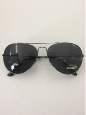 Aviator Novelty Sunglasses - Black