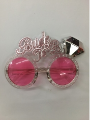Bride to Be Glasses - Novelty Glasses