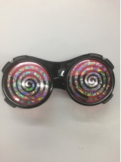 Prismatic Hypnotic Glasses - Novelty Glasses