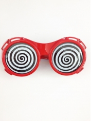 Prismatic Hypnotic Red - Novelty Glasses