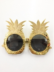 Pineapple Gold - Novelty Glasses