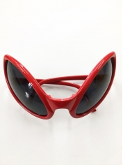 Red Alien Novelty Sunglasses