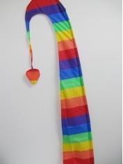 Rainbow Windsail Flag - Mardi Gras Accessories