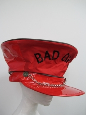 Red Bad Girl Hat - Mardi Gras Costume Accessories