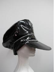 Black Bad Boy Hat - Mardi Gras Costume Accessories