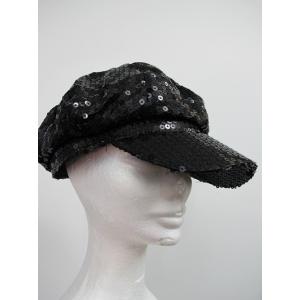 Black Sequin Hat