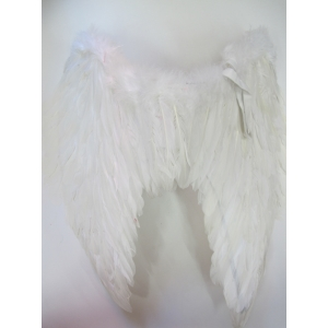 Large White Feather Angel Wings