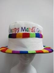 Happy Mardi Gras Hat - Mardi Gras Costumes accessories