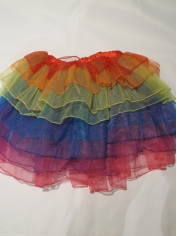 Rainbow Tutu - Mardi Gras Costumes