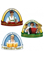 "German Oktoberfest Cut Out 18"" Pkt 3"