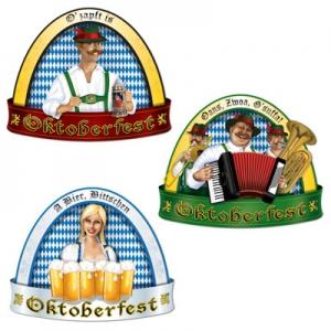 "German Oktoberfest Cut Out 18"" Pkt 3"