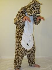 Brown Leopard Onesies - Animal Onesies