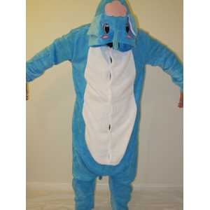 Blue Elephant Onesies - Animal Onesies