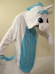 Blue Unicorn Onesies - Animal Onesies
