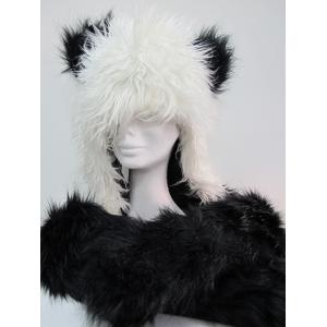 Long Panda Hood - Animal Hood