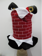 Santa Chimney Hat - Christmas Hat