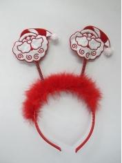 Santa Head Boppers - Christmas Hats