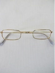 Santa Rectangle frame Glasses - Christmas Costume