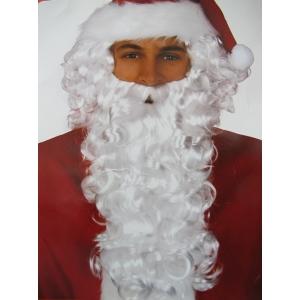 Deluxe Santa Wig and Beard - Christmas Costume