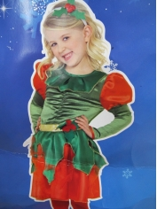 Holly Princess - Kids Christmas Costumes