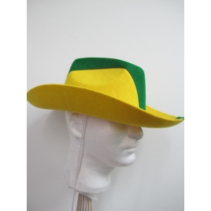 Green And Gold Cowboy Hat