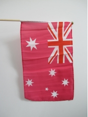 Pink Small Australia Flag
