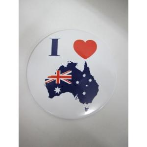 I Love Australian Badges