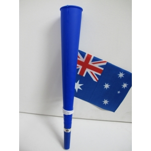 Aussie Party Horn with Australian Flag