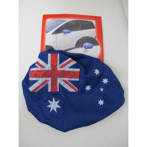 Aussie Car Mirror Flag Covers