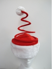 Santa Hat Spring Top - Christmas Accessories