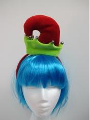 Mini Elf Hat On Headband - Christmas Hats