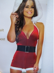 Sexy Santa Jumpsuit - Christmas Costumes