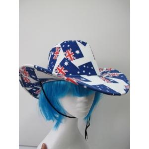Australian Flag Cowboy Hats