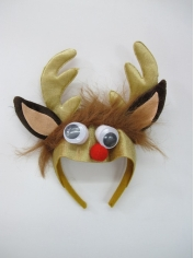 Reindeers Headband with Ears - Christmas Hats