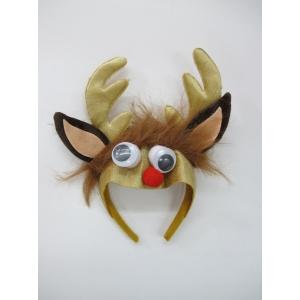 Reindeers Headband with Ears - Christmas Hats
