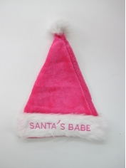 Pink Santa Hat - Christmas Hats