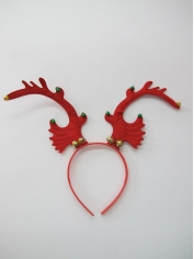 Red Reindeer Headband - Christmas Hats