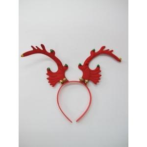 Red Reindeer Headband - Christmas Hats