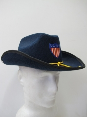 Blue Cowboy Hat - 4th Of July Costumes