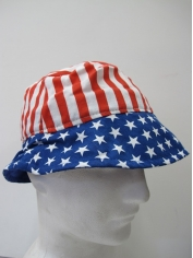 American Flag Bucket Hat - 4th Of July Costumes
