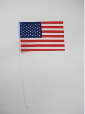Small American Flag on Stick - 4th Of July Costumes