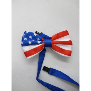 American Flag Bow Tie - 4th Of July Costumes