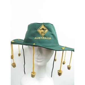 Australian Hat with Corks