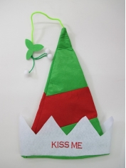 Kiss Me - Christmas Hat