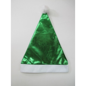 Green Metallic - Christmas Hat