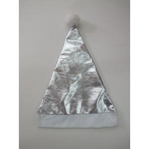 Silver Metallic - Christmas Hat